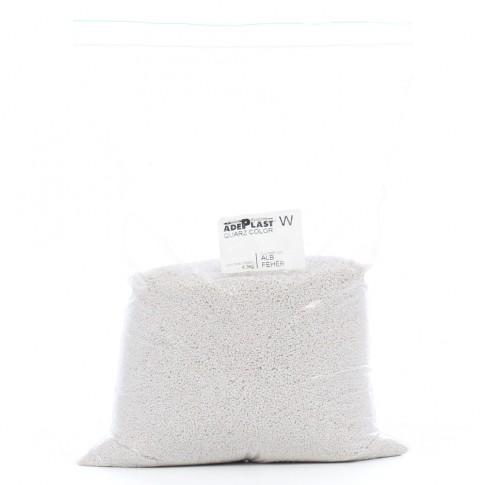 Quartz pentru tencuieli de soclu, Adeplast alb, interior / exterior, 4.3 kg