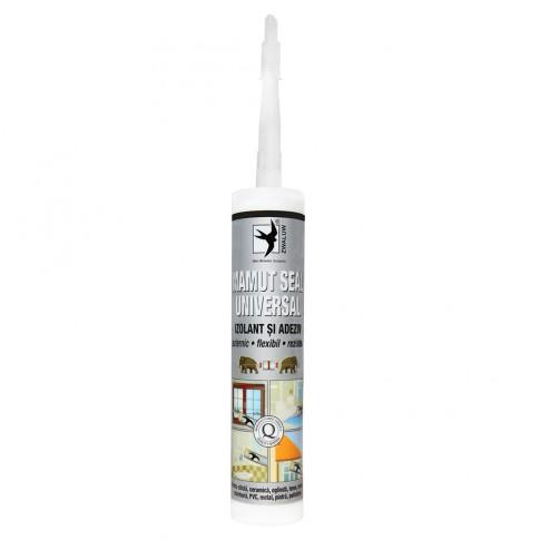 Adeziv pentru suprafete multiple, flexibil, interior / exterior, Mamut Seal Universal, alb, 290 ml