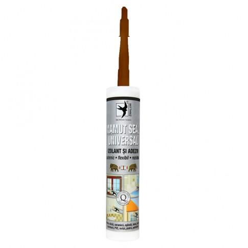 Adeziv pentru suprafete multiple, flexibil, interior / exterior, Mamut Seal Universal, maro, 290 ml