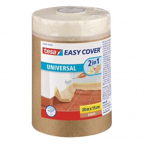Banda mascare tesa Easy Cover 58880, maro, interior, 150 mm