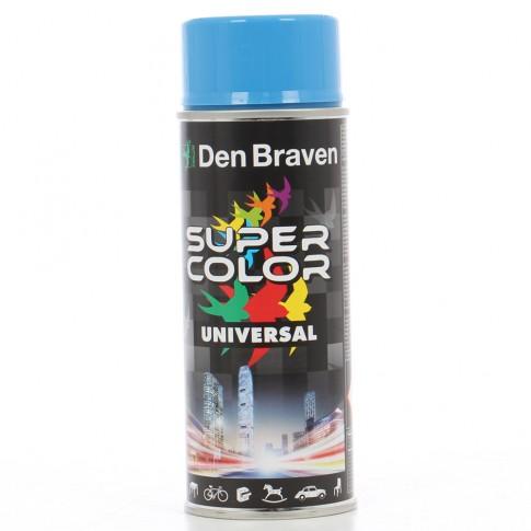 Spray vopsea, Den Braven Super Color Universal, albastru ciel RAL 5015, interior / exterior, 400 ml