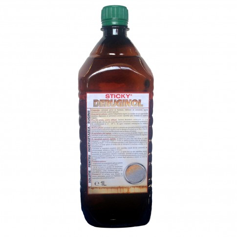 Solutie de indepartat urmele de rugina, Sticky Deruginol, 1 L