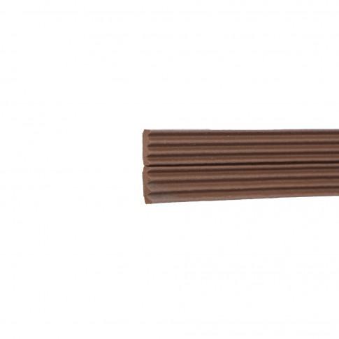 Banda de etansare ferestre Ellen, profil K, maro, 50 m