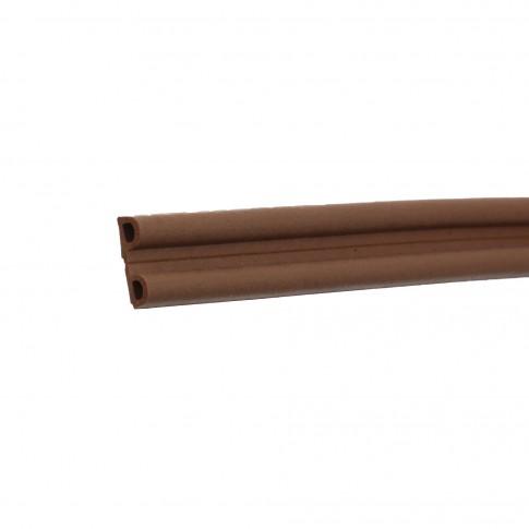 Banda de etansare ferestre Ellen, profil P, maro, 0,18 mm