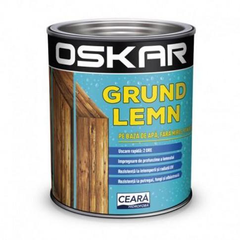 Grund pentru lemn pe baza de apa, Oskar, incolor, 2.5 L