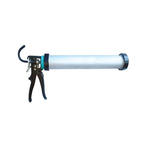 Pistol profesional pentru silicon, Masterdyne, aluminiu, 600 ml