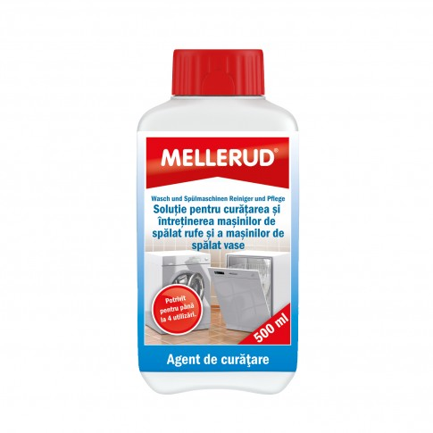Solutie de curatat masina de spalat rufe / vase, Mellerud, 0.5 L