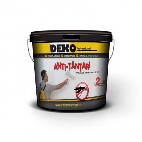 Vopsea pudra antitantari Deko, alba, 1.5 L