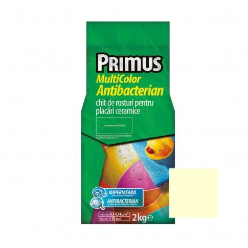 Chit de rosturi gresie si faianta Primus Multicolor Antibacterian, B48 topaz, interior / exterior, 2 kg