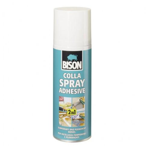Adeziv tip spray universal, Bison Colla Spray, transparent, 200 ml