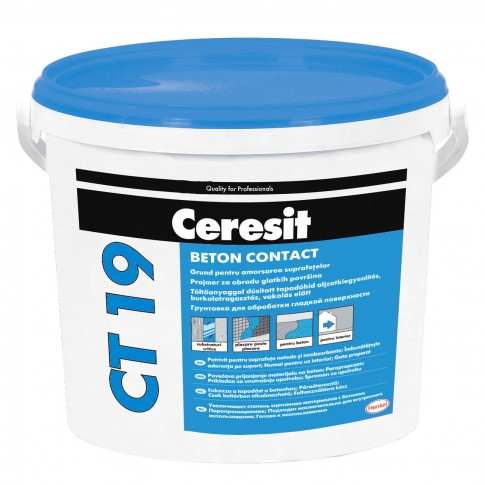 Amorsa perete Ceresit CT 19 Beton Contact, interior, 24 kg