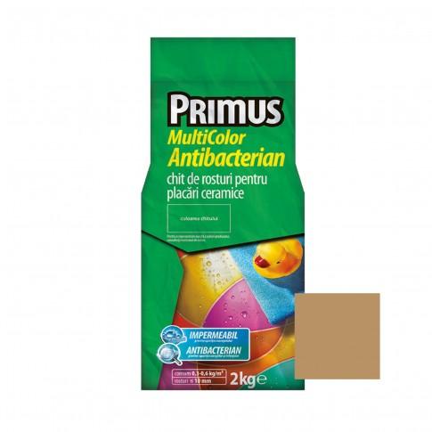 Chit de rosturi gresie si faianta Primus Multicolor Antibacterian B52 bronze, interior / exterior, 2 kg