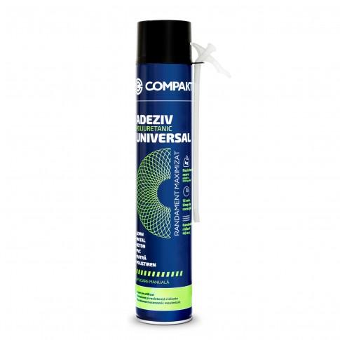 Adeziv poliuretanic universal, Compakt, aplicare manuala, 750 ml