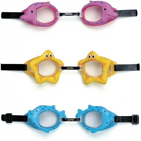 Ochelari inot copii Intex 55603, diferite culori
