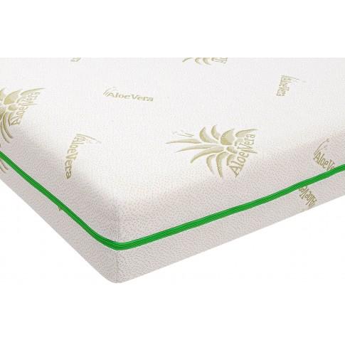 Saltea pat Bedora Relax Aloe + pilota + perne, 160 x 200 cm, cu spuma poliuretanica + memory, fara arcuri