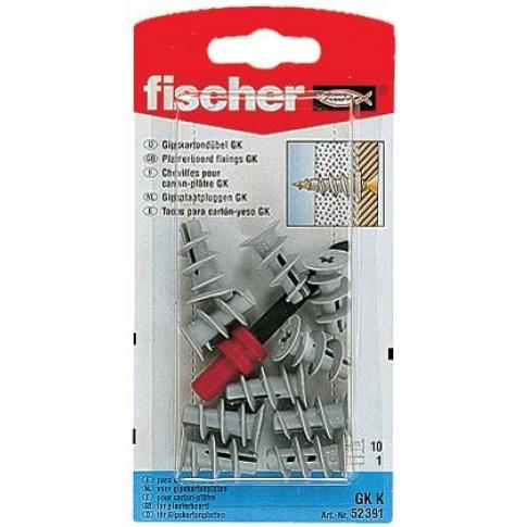 Diblu pentru gips carton, din nylon, GKK 22 mm, set 10 bucati