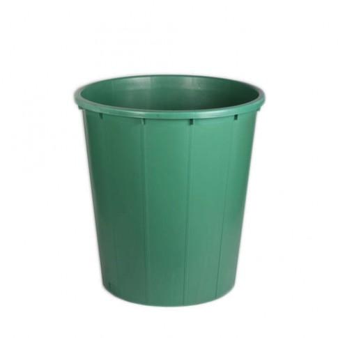 Butoi / cada plastic Plastor 24143, fara capac, 300 litri, verde D 88 cm
