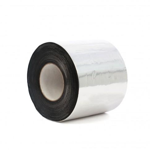 Banda autoadeziva Ekobit aluminiu, natural, 15 cm x 1,5 mm x 10 m