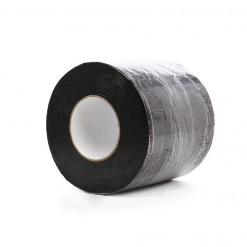 Banda autoadeziva Ekobit aluminiu, grafit, 10 cm x 1,5 mm x 10 m