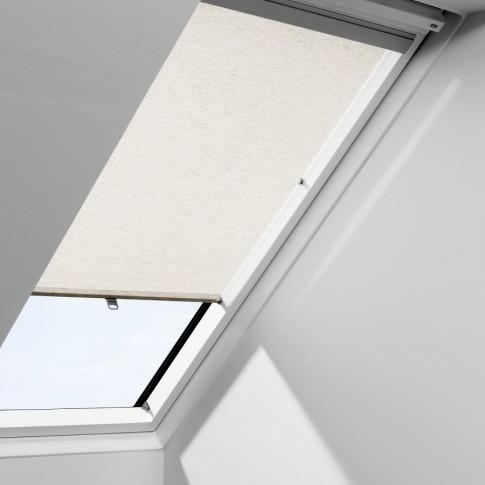 Rulou interior perdea fereastra mansarda Velux RFL M04 4000, bej-rustic, 98 x 78 cm