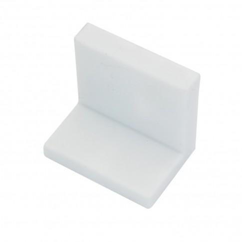 Coltar pentru suspendare mobilier, din otel, finisaj alb