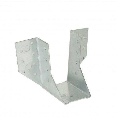 Papuc grinda tip A, din otel zincat, Vormann, 50 x 100 mm