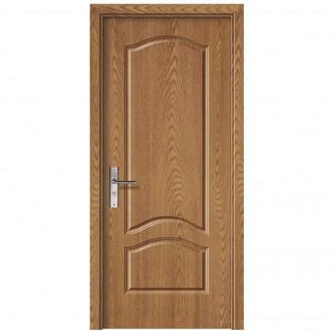 Usa de interior din lemn, SuperDoor F04-88-Q, stanga / dreapta, stejar deschis, 203 x 88 cm