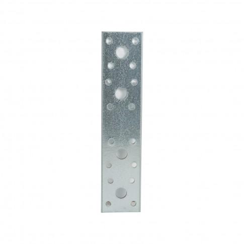 Element de imbinare plat, pentru constructii din lemn, din otel zincat, 180 x 40 mm