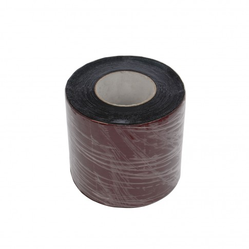 Banda autoadeziva Ekobit aluminiu, visiniu, 15 cm x 1,5 mm x 10 m