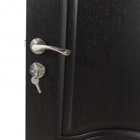 Usa de interior din lemn, BestImp 012-88-W, stanga / dreapta, wenge, 203 x 88 cm