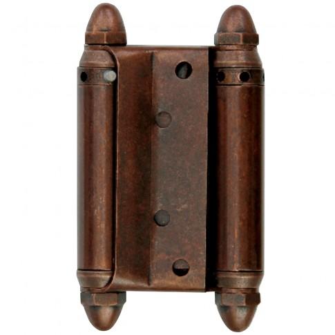 Balama pentru usi batante, cupru antichizat, 100 x 53 mm