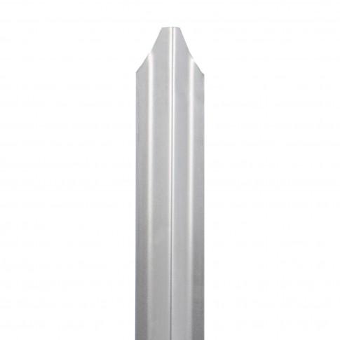 Sipca metalica cutata pentru gard, 1500 x 90 x 1 mm