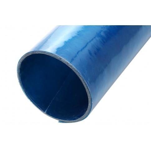Acoperis drept, armat cu fibra de sticla, albastru, 40 x 2 m