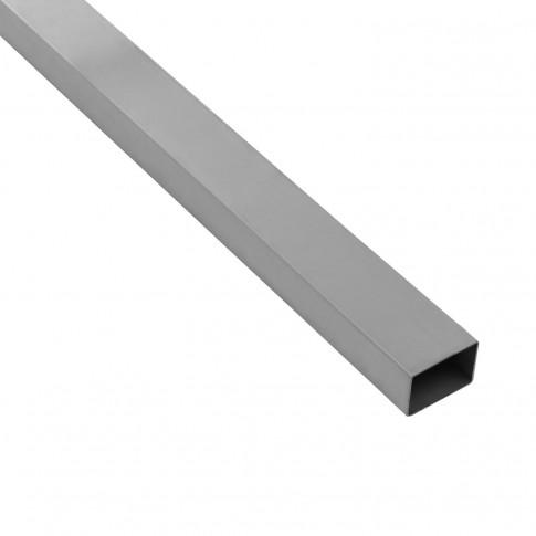 Stalp de gard zincat dreptunghiular 2.5 m 60 x 40 mm