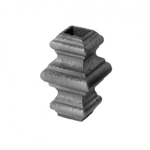Element fier forjat pafta ART 746/5, 65 x 40 mm