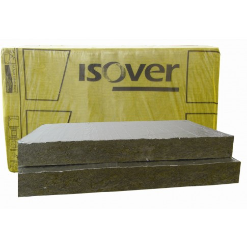 Vata minerala bazaltica Isover PLA caserata cu aluminiu 1000 x 600 x 50 mm