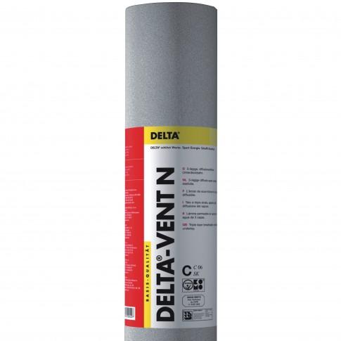 Folie anticondens Delta Vent N, 3 straturi, 1.5 x 50 m, 75 mp