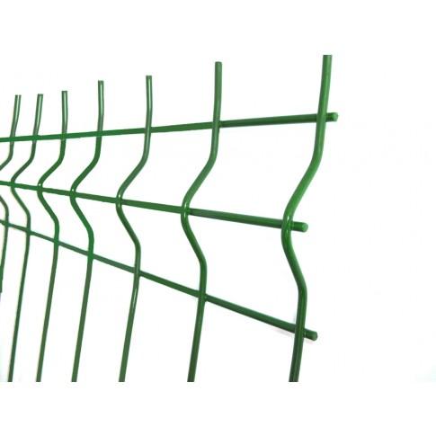 Panou gard zincat bordurat verde 2000 x 2000 mm