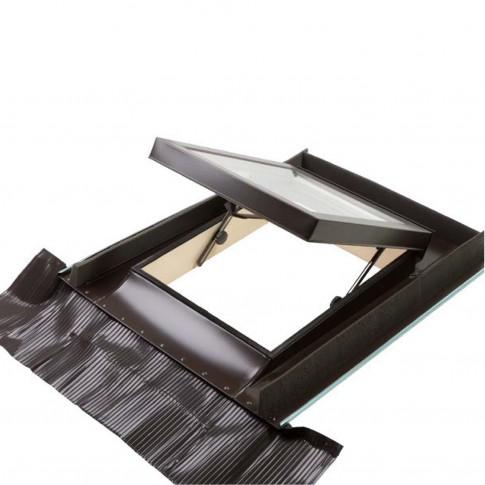 Luminator pentru mansarda Dakota Sky Line, aluminiu, maro, 90 x 48 cm