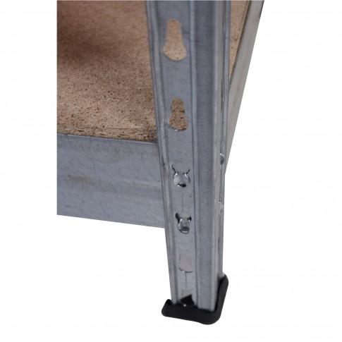 Raft metalic depozitare, Stabil, 192 x 100 x 50 cm, 265 kg/polita