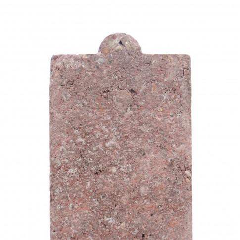 Bordura Semmelrock rosu 1000 x 200 x 50 mm