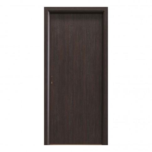 Usa interior celulara, Eco Euro Doors R80, dreapta, wenge, 202 x 86 x 4 cm cu toc