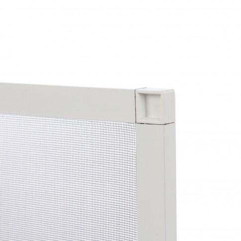 Plasa protectie insecte / tantari, Far Est, pentru ferestre, aluminiu, alb, 48.8 x 48.8 cm