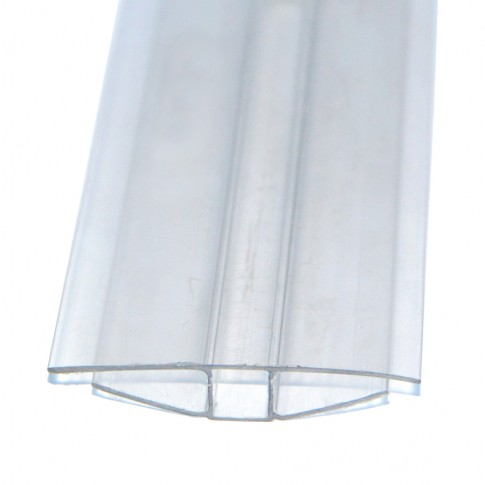 Profil policarbonat H, clar, 10 x 6000 mm
