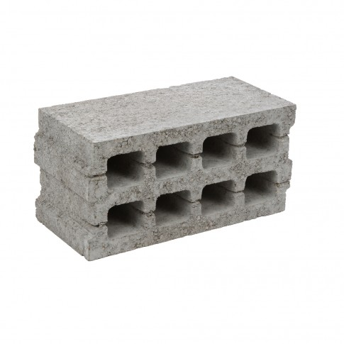Boltar din beton pentru zidarie BZ4 400 x 200 x 195 mm (LxGxH)