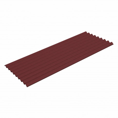Placa ondulata Guttapral K9, rosu brun