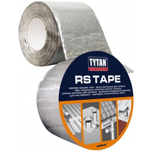 Banda bituminoasa autoadeziva, pentru hidroizolatie acoperis, aluminiu, Tytan Professional, 10 m x 75 mm