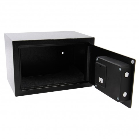Seif standard compact Yale YSV/200/DB1, cifru, negru, 200 x 310 x 200 mm