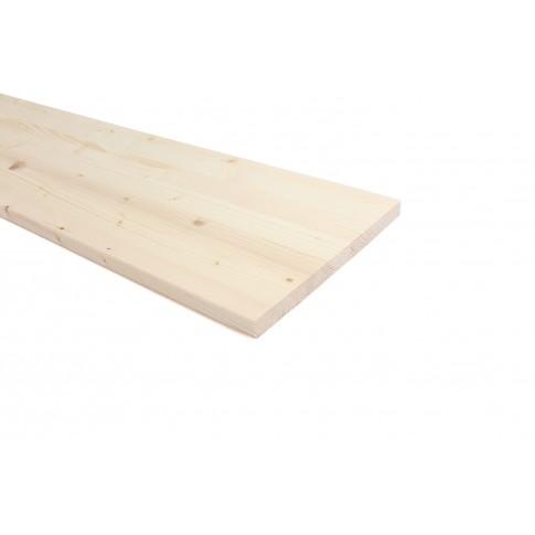Panou lemn molid calitate B, 800 x 250 x 18 mm