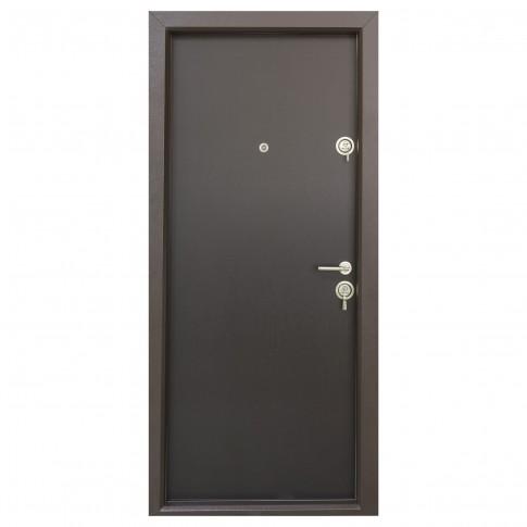 Usa interior metalica ERC 04 Eco, stanga, wenge, 201 x 88 cm